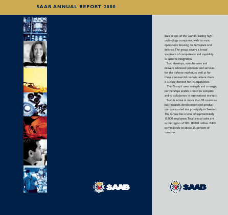 SAAB annual report 2000
