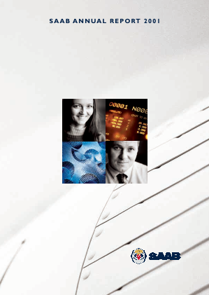 SAAB annual report 2001