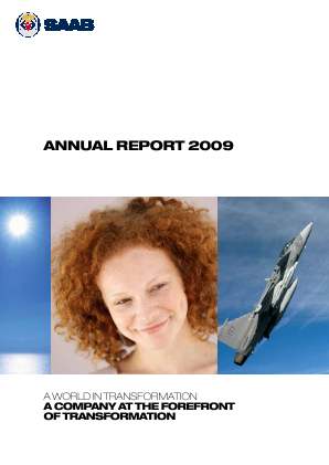 SAAB annual report 2009