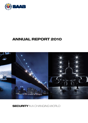 SAAB annual report 2010