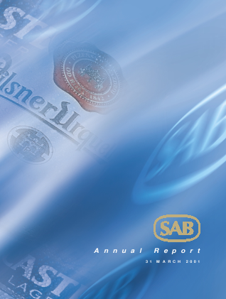 Sabmiller annual report 2001
