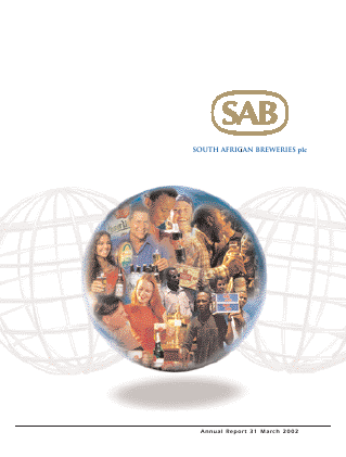 Sabmiller annual report 2002