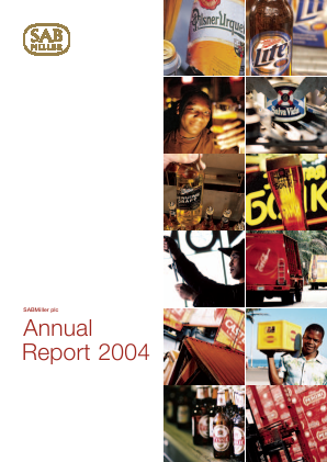 Sabmiller annual report 2004
