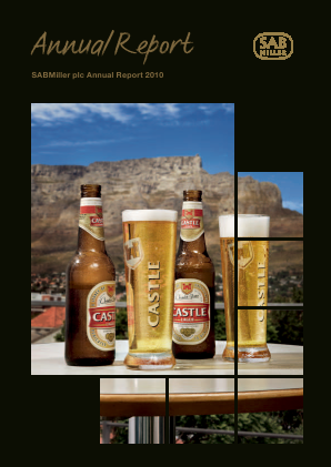Sabmiller annual report 2010