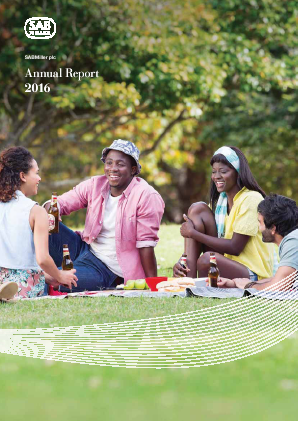 Sabmiller annual report 2016