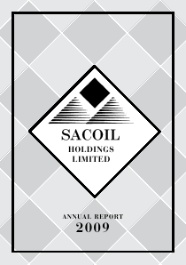 Sacoil Holdings annual report 2009