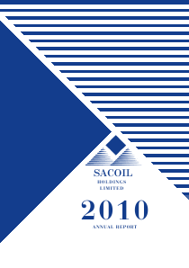 Sacoil Holdings annual report 2010
