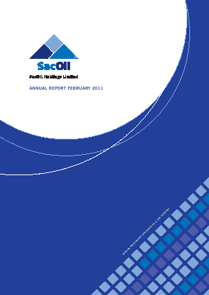 Sacoil Holdings annual report 2011