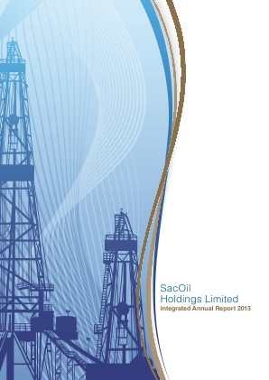 Sacoil Holdings annual report 2013