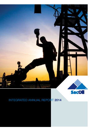 Sacoil Holdings annual report 2014