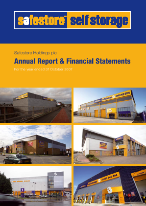 Safestore Holdings Plc annual report 2007
