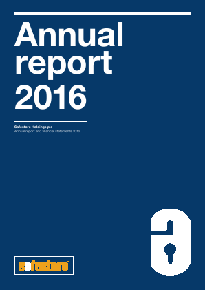 Safestore Holdings Plc annual report 2016