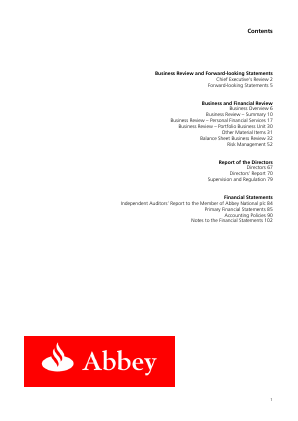 Santander UK Plc annual report 2005