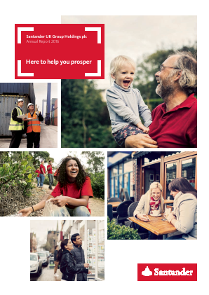 Santander UK Plc annual report 2016
