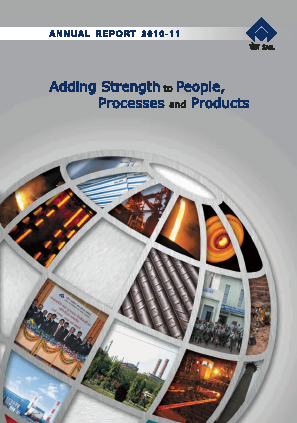 Steel Authority Of India annual report 2011