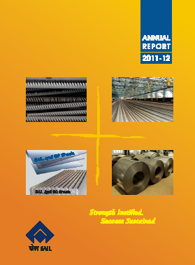 Steel Authority Of India annual report 2012