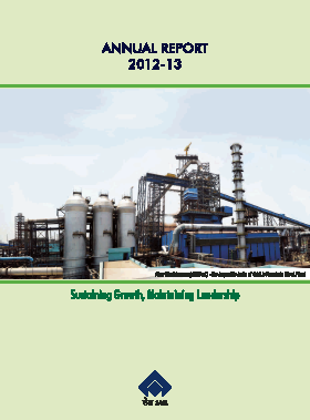 Steel Authority Of India annual report 2013