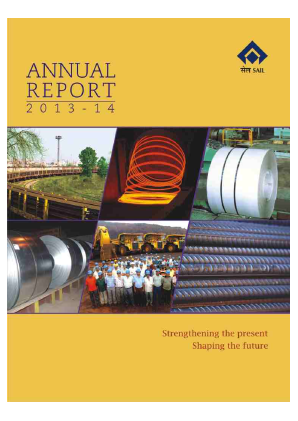 Steel Authority Of India annual report 2014