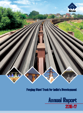 Steel Authority Of India annual report 2017