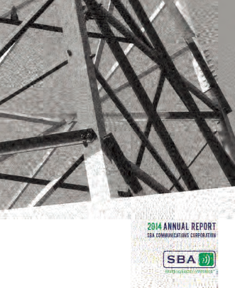 SBA Communications Corp. annual report 2014