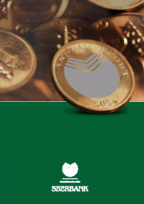 Sberbank Of Russia annual report 2004
