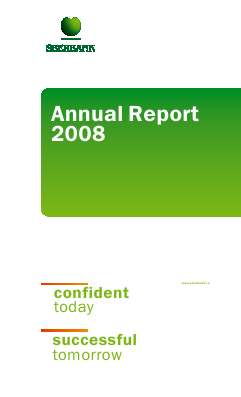 Sberbank Of Russia annual report 2008