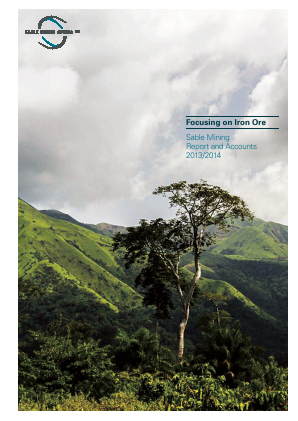 Consolidated Growth Holdings(Previously Sable Mining Africa) annual report 2014