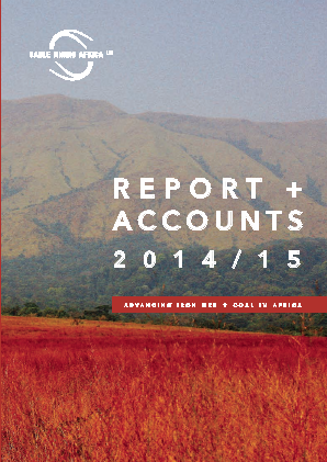 Consolidated Growth Holdings(Previously Sable Mining Africa) annual report 2015