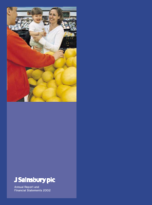 Sainsbury(J) annual report 2002