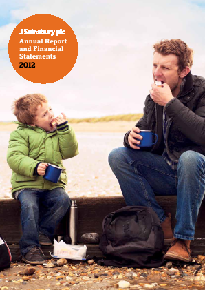 Sainsbury(J) annual report 2012