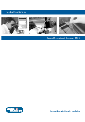 Source Bioscience Plc annual report 2005