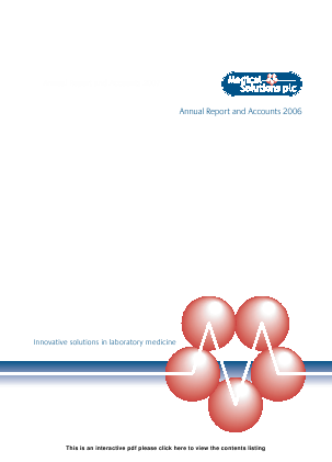 Source Bioscience Plc annual report 2006