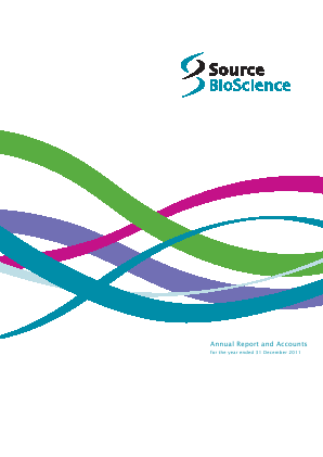 Source Bioscience Plc annual report 2011