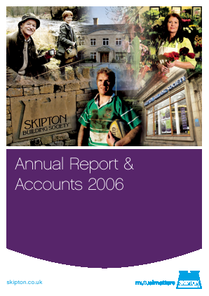 Skipton Building Society annual report 2006