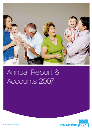 Skipton Building Society annual report 2007