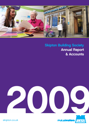 Skipton Building Society annual report 2009
