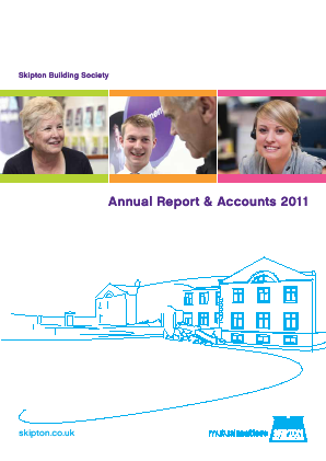 Skipton Building Society annual report 2011