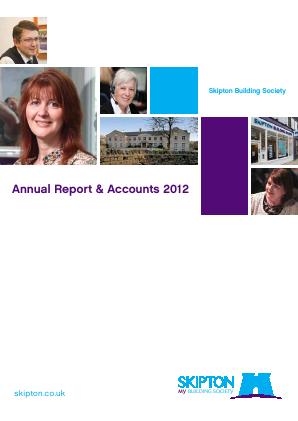 Skipton Building Society annual report 2012