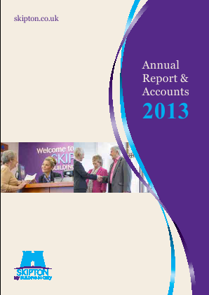 Skipton Building Society annual report 2013
