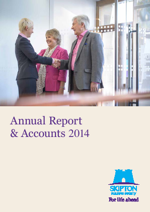 Skipton Building Society annual report 2014