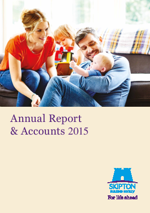Skipton Building Society annual report 2015