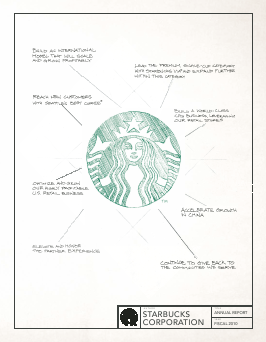Starbucks Corporation annual report 2010