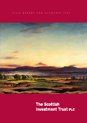 Scottish Investment Trust annual report 2002