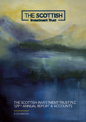 Scottish Investment Trust annual report 2016