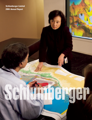 Schlumberger annual report 2006