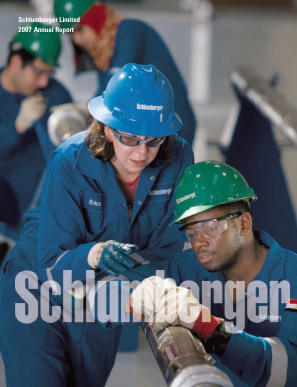 Schlumberger annual report 2007