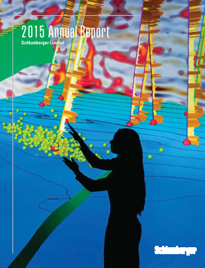 Schlumberger annual report 2015