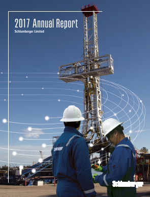 Schlumberger annual report 2017