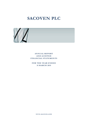 Sacoven Plc annual report 2015