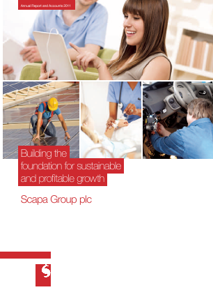 Scapa Group Plc annual report 2011